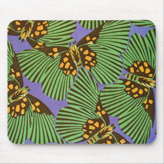 Séguy's Art Deco Butterflies Mouse Pad