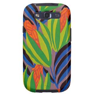 Seguy s Art Deco Tropical Flowers Galaxy SIII Covers