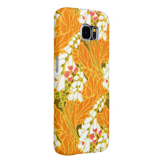 Séguy's Art Nouveau White Bell-Shaped Flowers Samsung Galaxy S6 Case