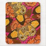 Seguy's Art Deco Butterflies - Mousepad