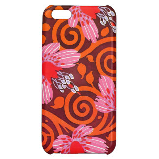 Seguy's Art Deco Pink Flowers iPhone 5C Cover