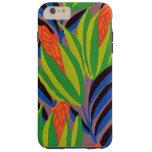 Seguy's Art Deco Tropical Flowers Tough iPhone 6 Plus Case