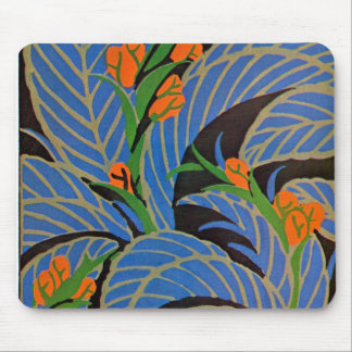 Seguy's Art Deco Tropical Night - Mousepad