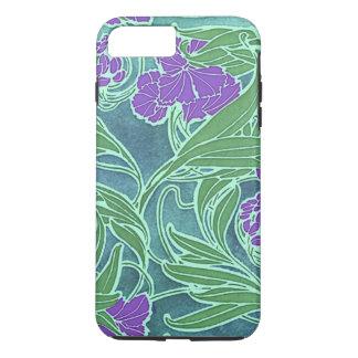 Seguy's Vintage Purple Flower Design iPhone 7 Plus Case