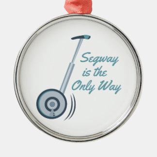 Segway Metal Ornament
