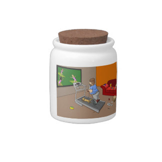 Segway Workout Candy Jar