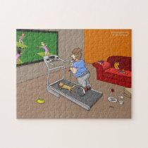Segway Workout Jigsaw Puzzle