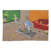 Segway Workout Kitchen Towel