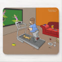 Segway Workout Mousepad