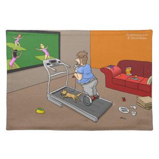 Segway Workout Placemat