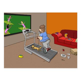 Segway Workout Postcard