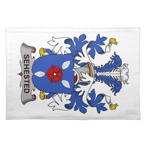 Sehested Family Crest Placemats