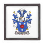 Sehested Family Crest Premium Jewelry Box