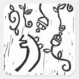 Sei Hei Ki Monoprint Stickers