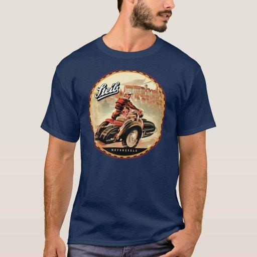 Zazzle Seib vintage Motorcycle sidecars T-shirt