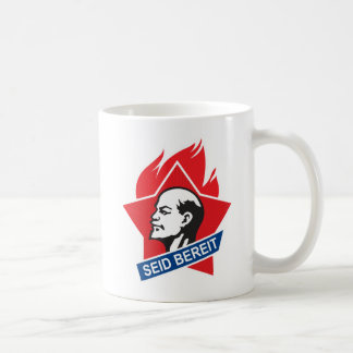 seid bereit - be prepared coffee mug