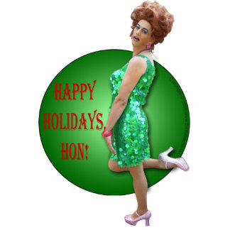 Seida Bacon Holiday Ornament Photo Cut Out