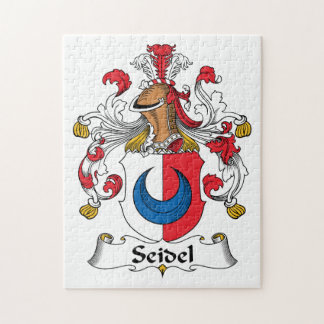 Seidel Family Crest Jigsaw Puzzles