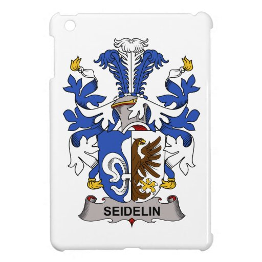 Seidelin Family Crest iPad Mini Covers