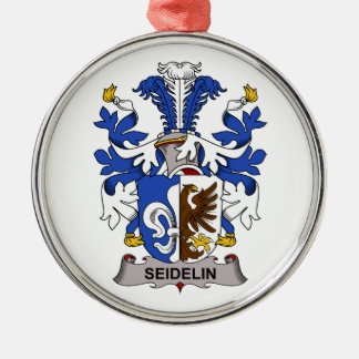 Seidelin Family Crest Ornaments