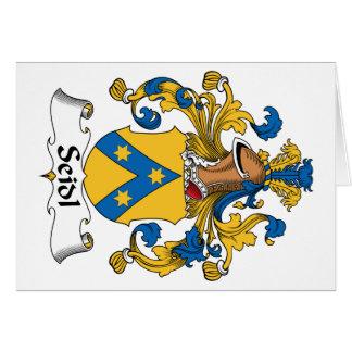 Seidl Family Crest Cards