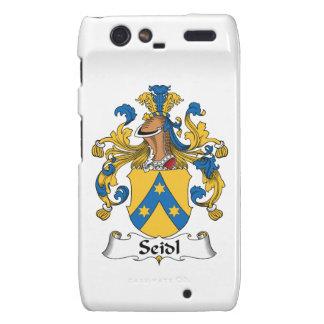 Seidl Family Crest Motorola Droid RAZR Cases