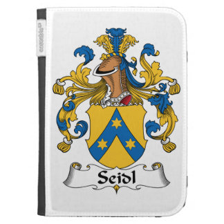 Seidl Family Crest Kindle 3 Cover