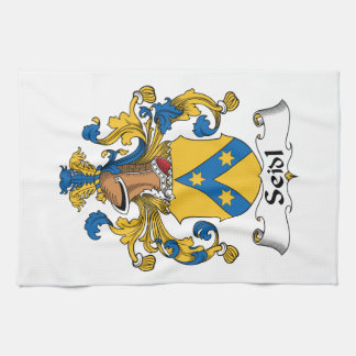 Seidl Family Crest Hand Towels