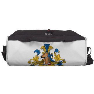 Seidl Family Crest Laptop Messenger Bag