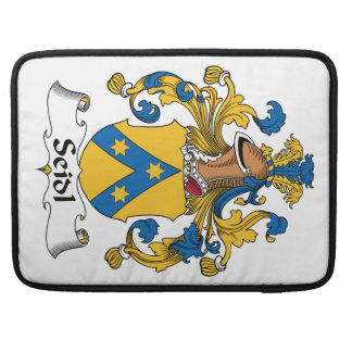 Seidl Family Crest MacBook Pro Sleeves