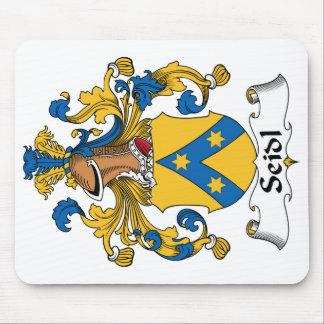 Seidl Family Crest Mouse Pad