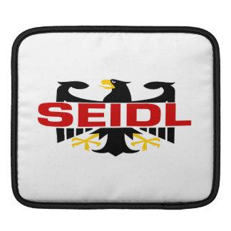 Seidl Surname iPad Sleeve