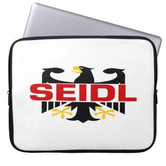 Seidl Surname Laptop Computer Sleeves