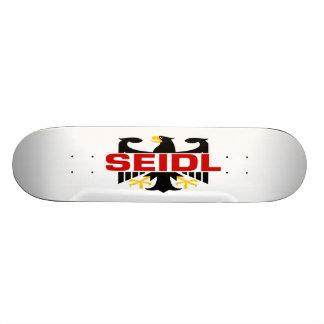 Seidl Surname Skateboard Decks