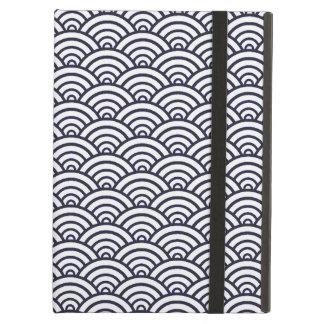 Seigaiha Asian ocean pattern iPad Air Case