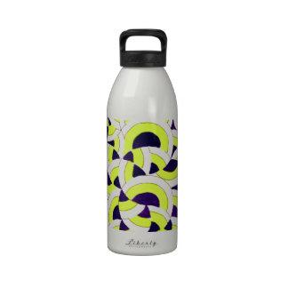 Seigaiha Series - Congregate2.png Drinking Bottles