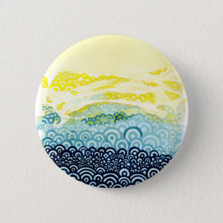 Seigaiha Series - Embrace Pinback Button
