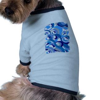 Seigaiha Series - Tenderness Pet T-shirt