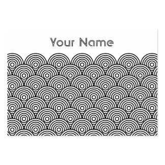 Seikai dissension (black) business card