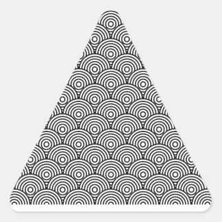 Seikai dissension (black) triangle sticker