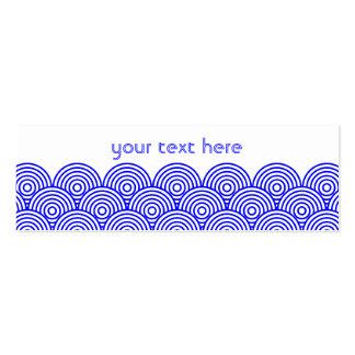 Seikai dissension (blue color) business card template