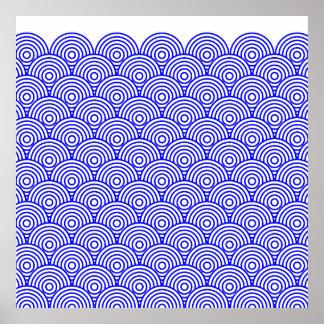 Seikai dissension (blue color) poster