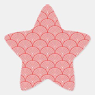 Seikai dissension (red) star sticker