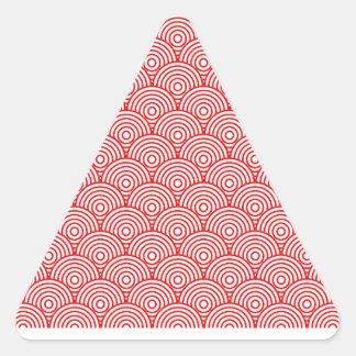 Seikai dissension (red) triangle sticker