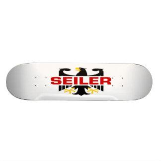 Seiler Surname Custom Skate Board