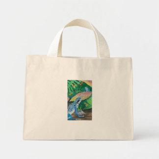 Seilonen, Blue Dart Frog Handbag Bags