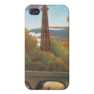Seine and Eiffel tower in the sunset - Rousseau Covers For iPhone 4