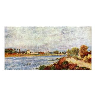 Seine At Argenteuil By Pierre-Auguste Renoir Photo Card