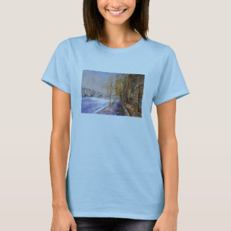 Seine in the Rain T-Shirt