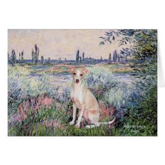 Seine - Italian Greyhound 5 Card